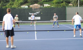 Tennis at Buccament Bay in St. Vincent & the Grenadines