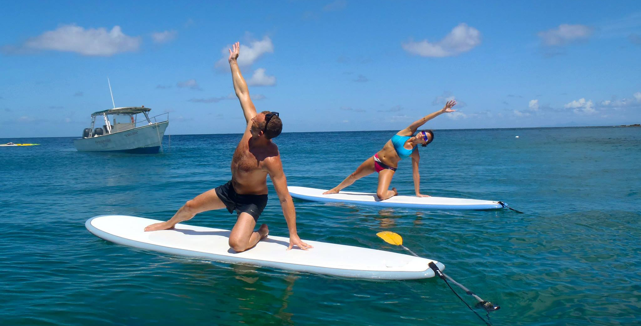SUP yoga at the bodyholiday
