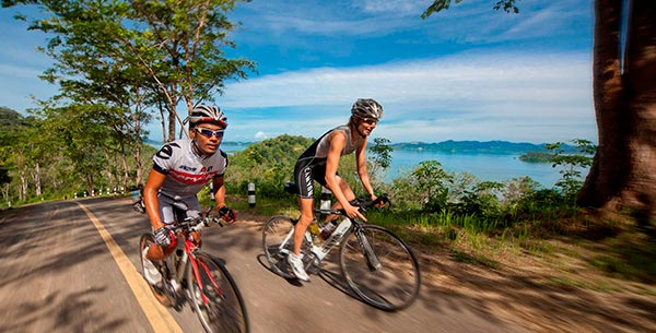 Cycling at thanyapura