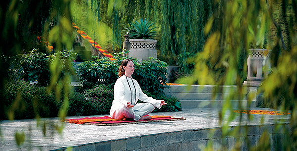 Experience different types of Pranayama at Ananda